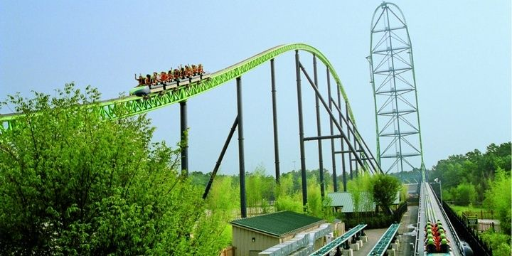 8 Scariest Roller Coasters in the United States of America Kingda Ka